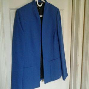 Kasper blue blazer